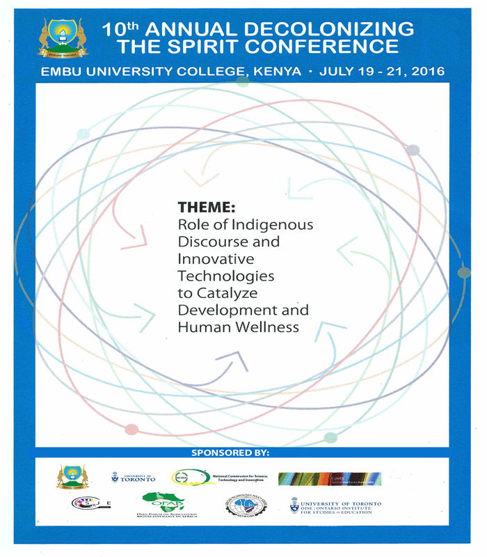 Decolonizing The Spirit Conference